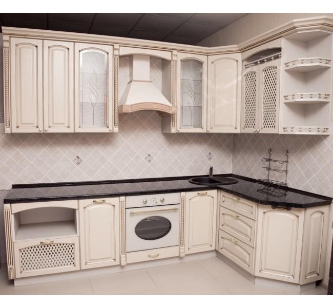 Деревянная кухня №1