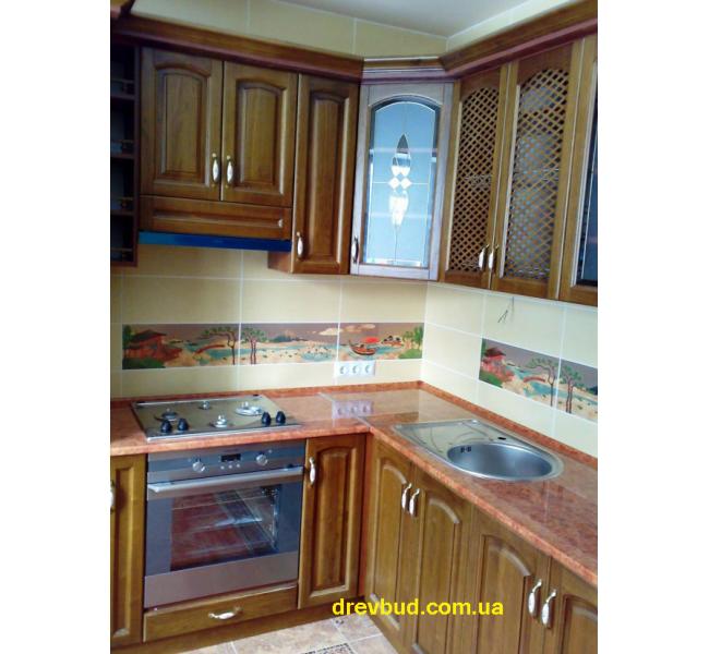 Деревянная кухня №2