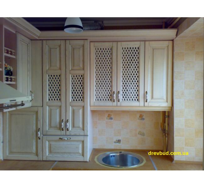 Деревянная кухня №4