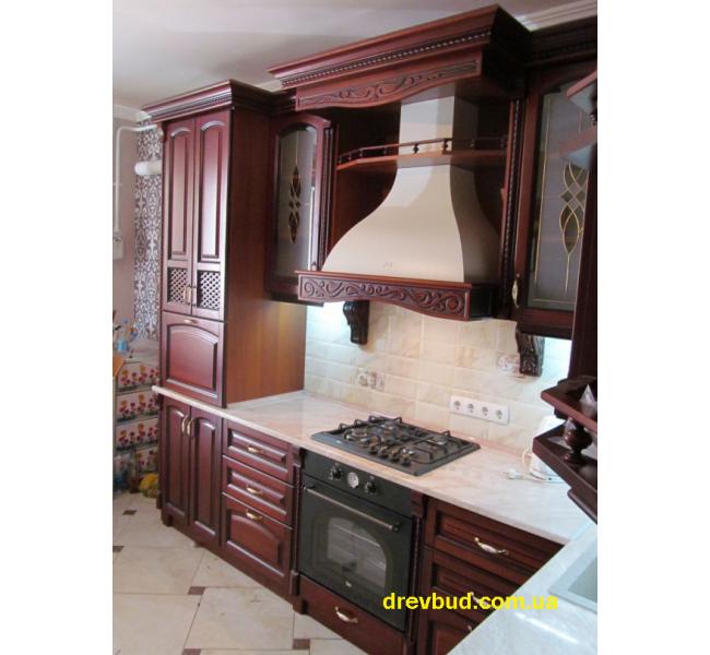 Деревянная кухня №5